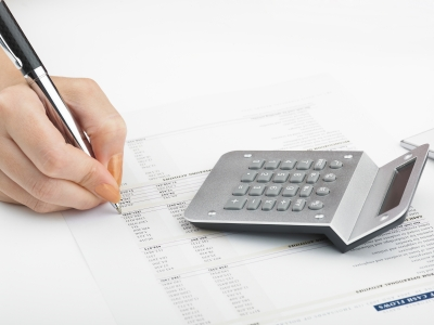 Bookkeeping with Calculator